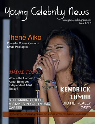 February Issue of Young Celebrity News