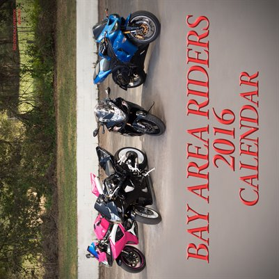 Bay Area Riders 2016 Calendar