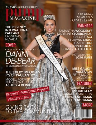 PUMP Magazine Regency International Featuring Danni De-Bear