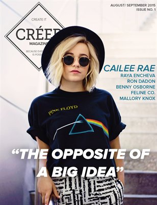 CREER Magazine: Issue No. 1