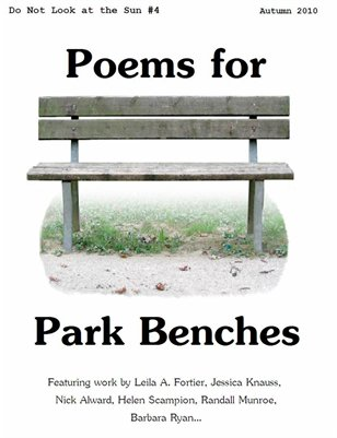 Poems for Park Benches