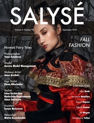 SALYSÉ Magazine | Vol 4 : No 92 | September 2018