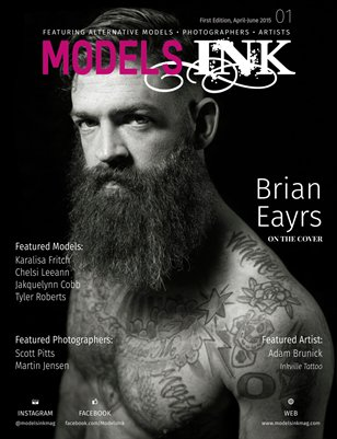 Models Ink Magazine Brian Cover