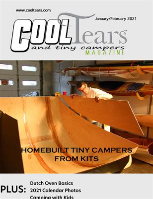 Cool Tears and Tiny Campers Magazine - January/February 2021