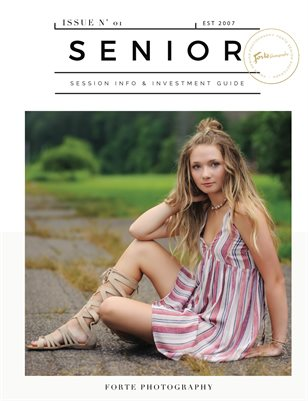 2019 Senior Magazine