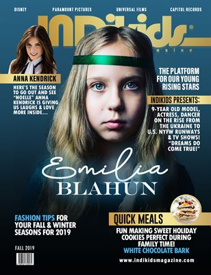 IDK FALL 2019 EMILIA COVER