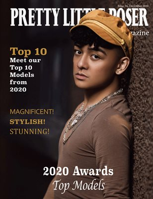 Pretty Little Poser Model Magazine - Issue 14 - 2020 Awards - Models