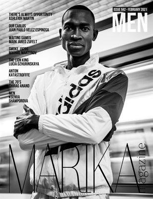 MARIKA MAGAZINE MEN (ISSUE 582 - February)