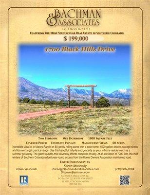 1700 Black Hills Drive