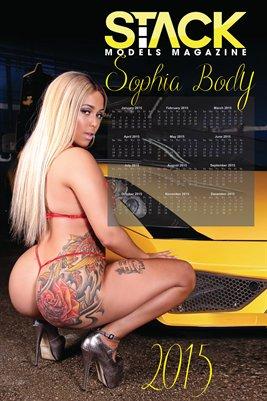 Sophia Body 2015 Calendar I - 12 x 18