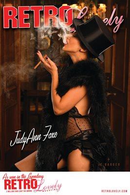 Retro Lovely No.84 – JudyAnn Foxe Cover Poster