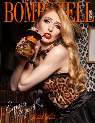 BOMBSHELL Magazine July 2021 - Emma Bryant Cover