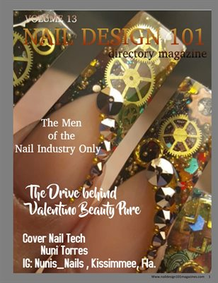 "Volume 13 B ""Male Only Nail Techs"""
