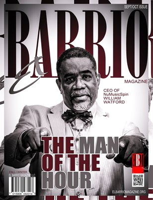 NuMusicSpin CEO William Watford The Man Of The Hour Sept/Oct 2014 Issue