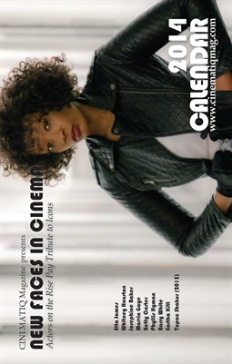 2014 NEW FACES IN CINEMA CALENDAR presented by CINEMATIQ Magazine (Whitney Houston Cover)