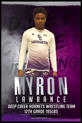 Myron Lawrance DC #2 Poster