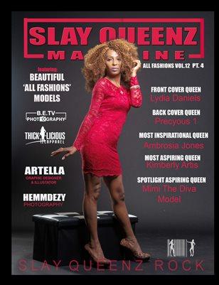 Slay Queenz Magazine vol.12 'ALL FASHIONS Pt.4