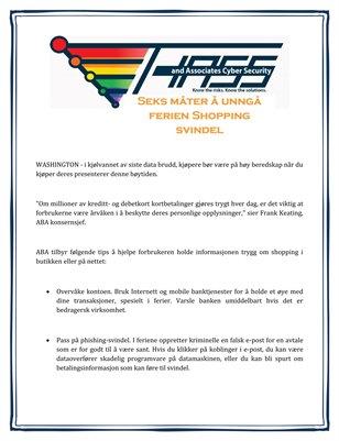 Hass & Associates Online Reviews: Seks måter å unngå ferien Shopping svindel