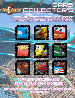 The Complete Everything CARS Year by Year Checklist 2006-2017