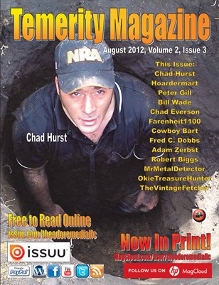 Temerity Magazine Volume 2 Issue 3 August 2012