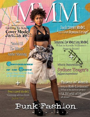 """September Monthly """"Punk Fashion"""" Issue"""