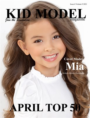 Kid Model Magazine Issue 6 Volume 9 2021