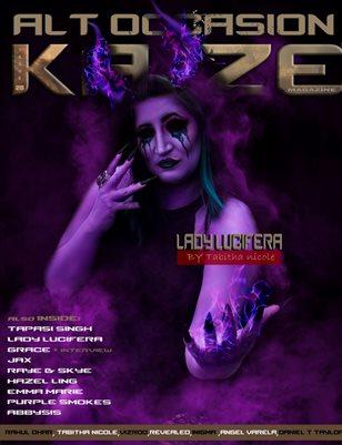 Kayze magazine issue 28 - ALT OCCASION - LADY LUCIFERA
