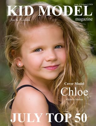 Kid Model magazine Issue 8 Volume 8 2020 JULY TOP 50