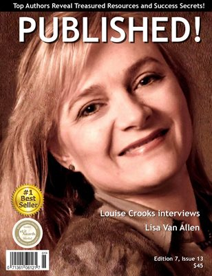 PUBLISHED! Magazine featuring Louise Crooks interviews Lisa Van Allen