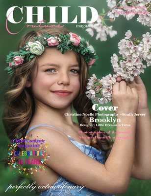 Child Couture magazine Issue 5 Volume 10 2020 Spring Blossoms