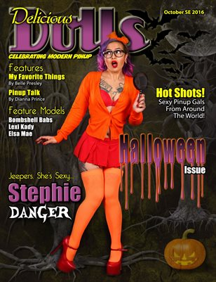 October 2016 Halloween Issue Stephie Danger