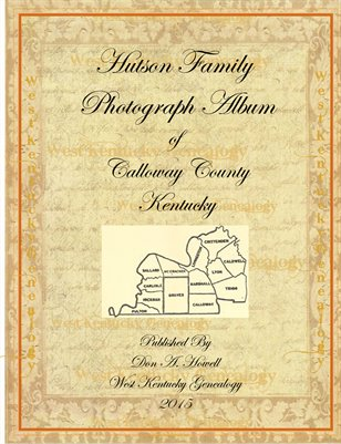 Hutson Family Album of Calloway County, Kentucky