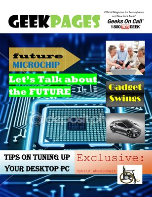 Geek Pages Tech Magazine