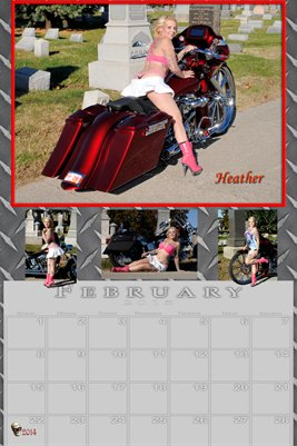 Heather Miss February 2015 poster