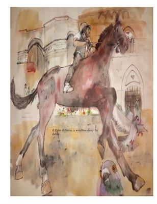 il Palio di Siena. a wordless story