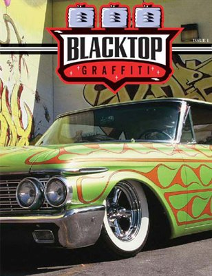 Blacktop Graffiti Magzine Issue #1