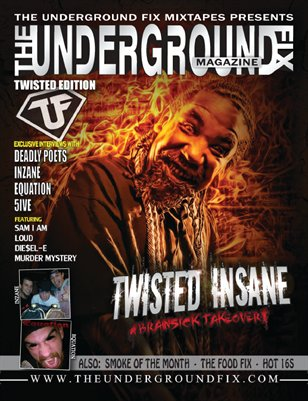 The Underground Fix Magazine 'Twisted' Edition