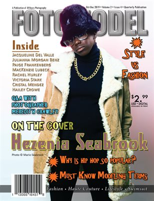 FOTOMODEL Magazine October-December 2019  Volume 2 Issue 4