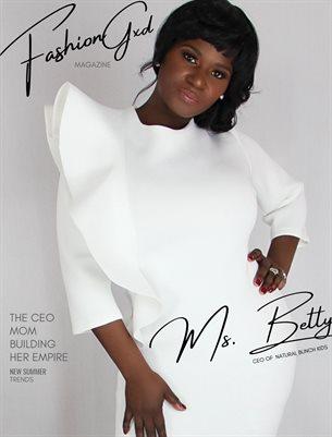 "Fashion Gxd Magazine ""Ms. Betty"""
