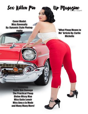 Sex Kitten Pin Up Magazine Summer Issue 2018 Cover2