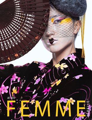 Femme Rebelle Magazine Oct 2019 BOOK 2 - Troy Walker Cover
