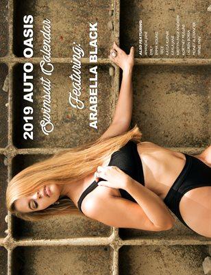 Auto Oasis Swimsuit Calendar featuring Arabella