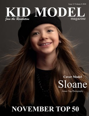 Kid Model Magazine Issue 13 Volume 8 2020 November Top 50