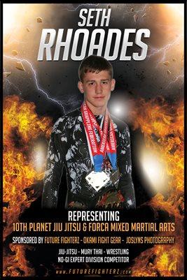 Seth Rhoades Fire Poster