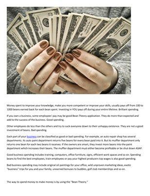 Meir Ezra: How to spend money to make more money
