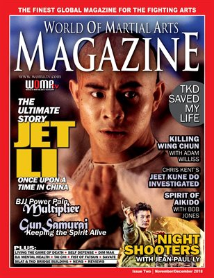 World of Martial Arts Magazine Nov/ Dec