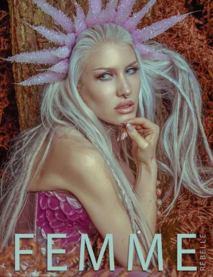 Femme Rebelle Magazine DECEMBER 2017 - BOOK 1 - NEWO Cover