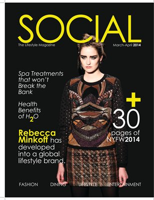 Social the Lifestyle Magazine Mar/April 2014