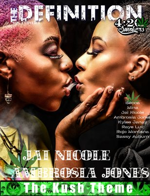 The Definition of High: Jai Nicole - Ambrosia Jones The Kush Theme Vol.1 cover 1
