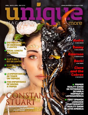 UNIQUE MAGAZINE  and more APRIL-MAY 2018